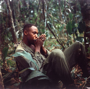 Soldier with Harmonica